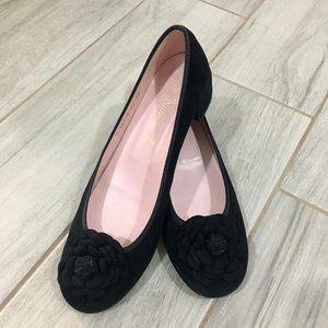 💥Sale💥 Pretty Ballerinas Black Suede Shoes
